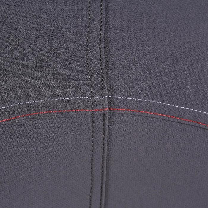 Pantalon équitation homme BR700 basanes gris et chevron - 1081590