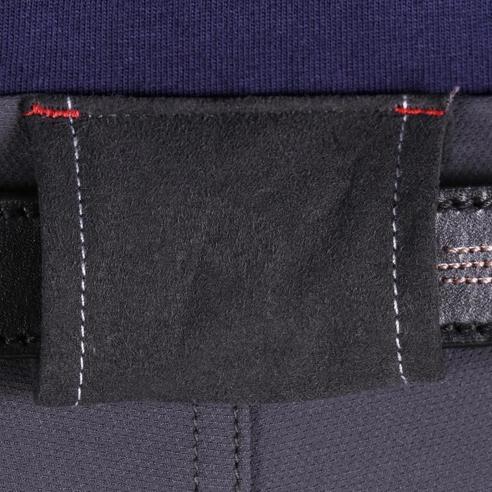 Pantalon équitation homme BR700 basanes gris et chevron - 1081591