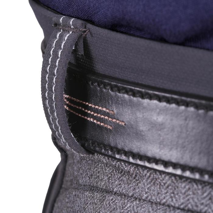 Pantalon équitation homme BR700 basanes gris et chevron - 1081594