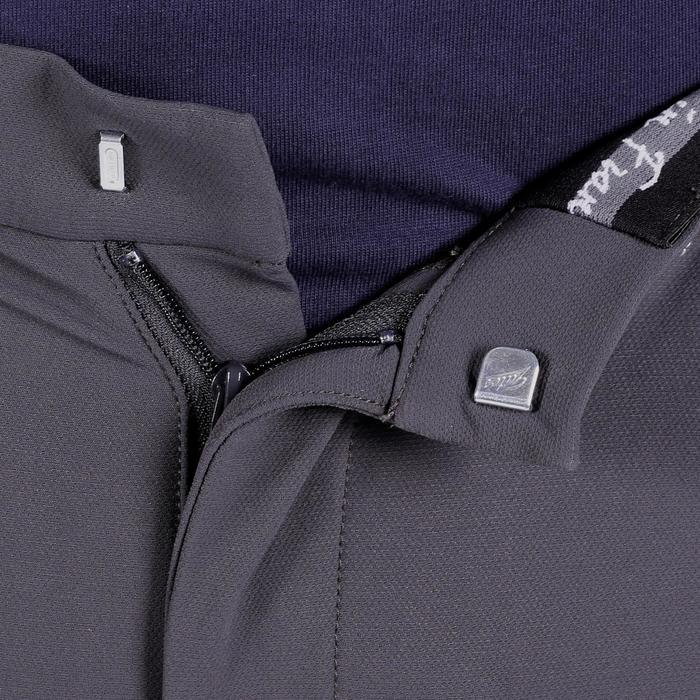 Pantalon équitation homme BR700 basanes gris et chevron - 1081595