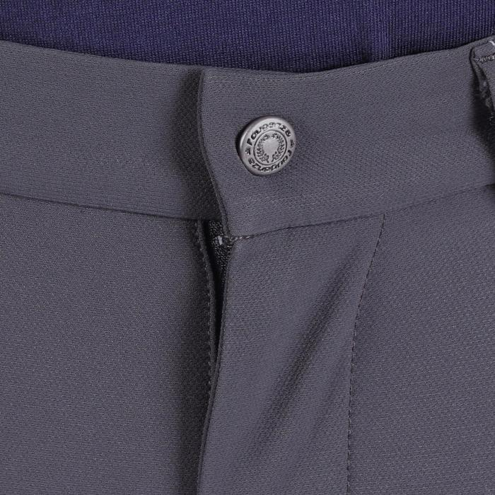 Pantalon équitation homme BR700 basanes gris et chevron - 1081596