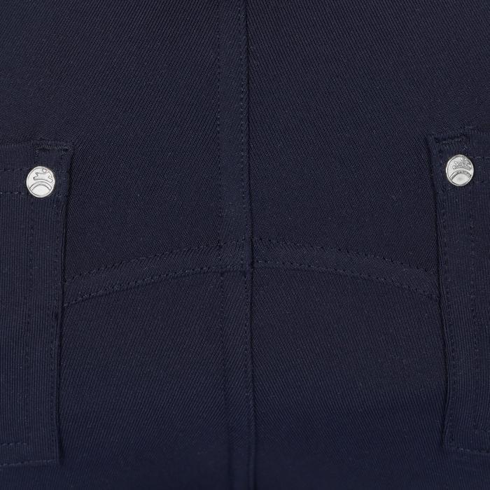 Reithose BR100 Light Kinder marineblau