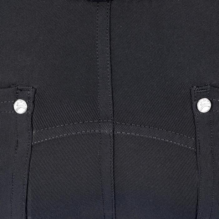 Pantalón equitación niños BR100 LIGHT gris