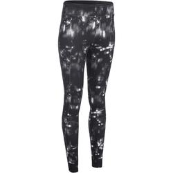 Energy Women's Fitness Leggings - Black/White Print
