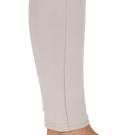 BR100 Light Children's Horse Riding Jodhpurs - Beige