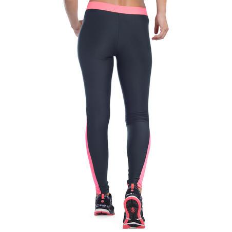Leggings transpirables cardio mujer dos colores gris y negro ENERGY +