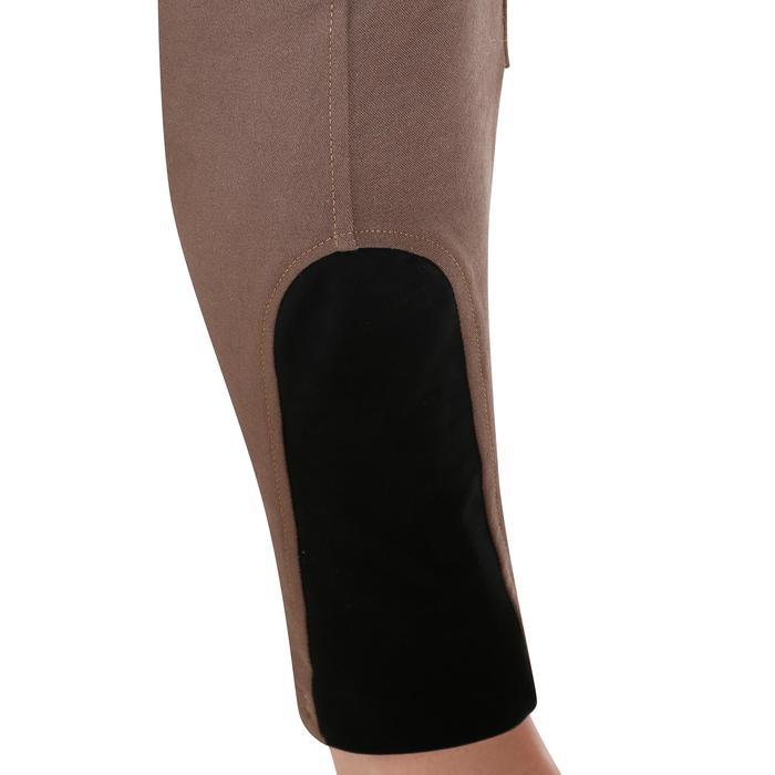 Pantalon équitation femme BR500 basanes marine - 1081948
