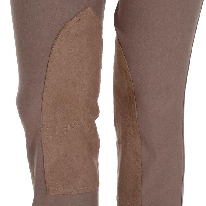Pantalon équitation femme BR500 basanes marine - 1081952