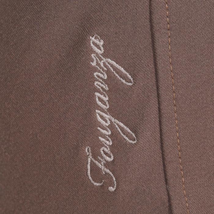 Pantalon équitation femme BR500 basanes marine - 1081954
