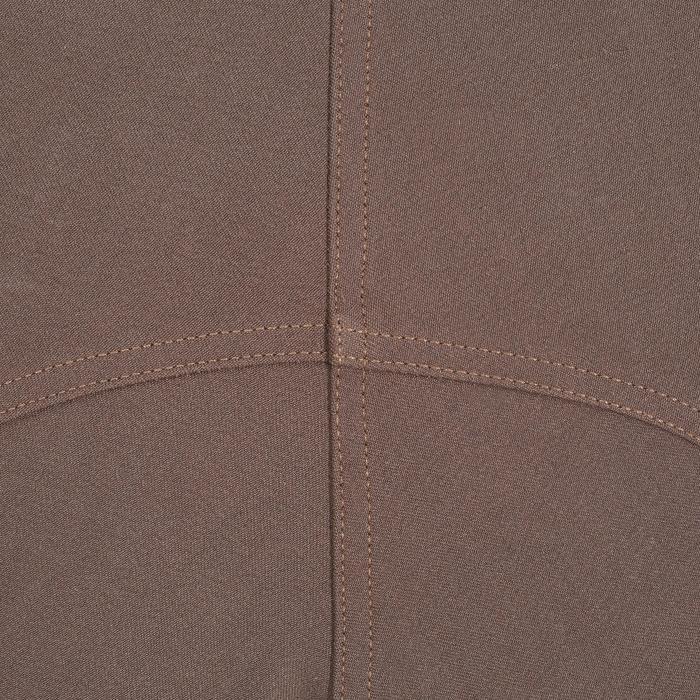 Pantalon équitation femme BR500 basanes marine - 1081959