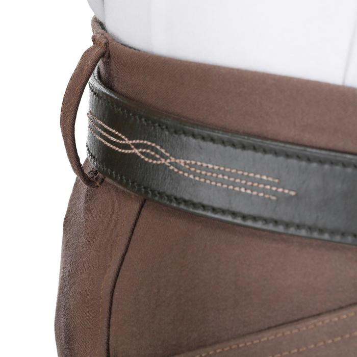 Pantalon équitation femme BR500 basanes marine - 1081961