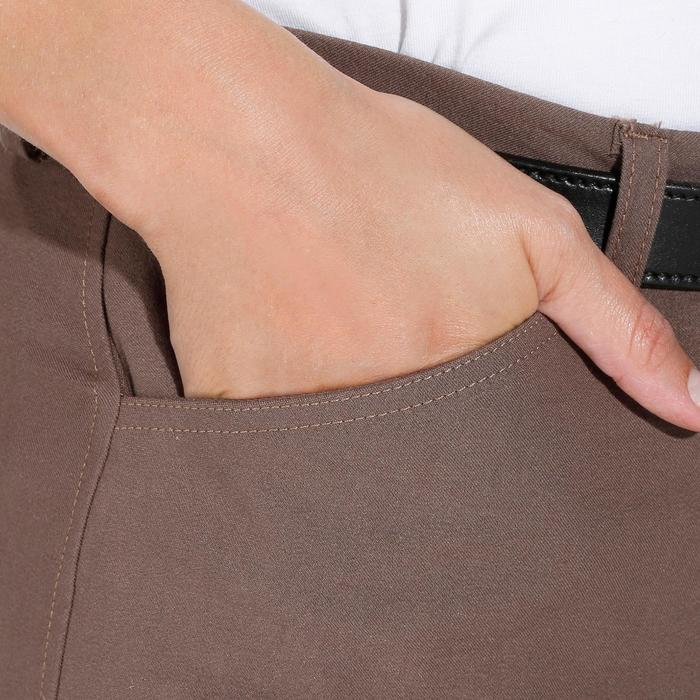 Pantalon équitation femme BR500 basanes marine - 1081962