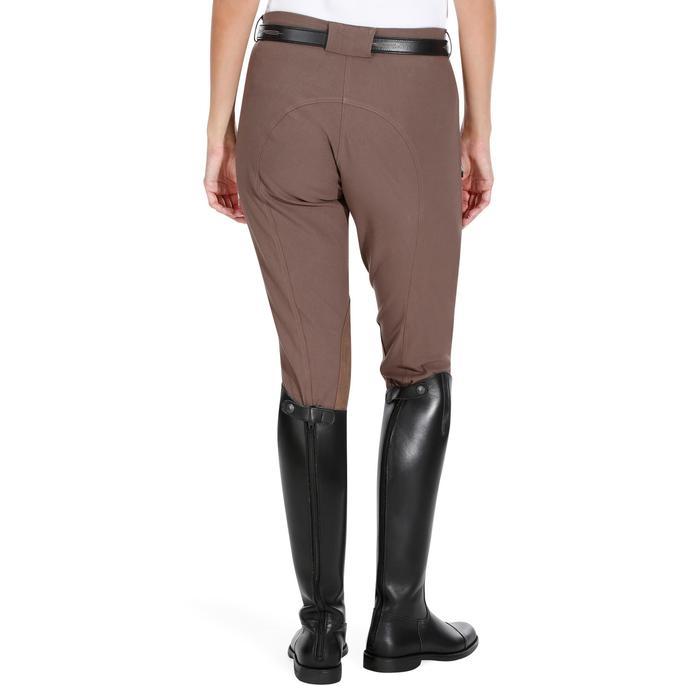 Pantalon équitation femme BR500 basanes marine - 1081971