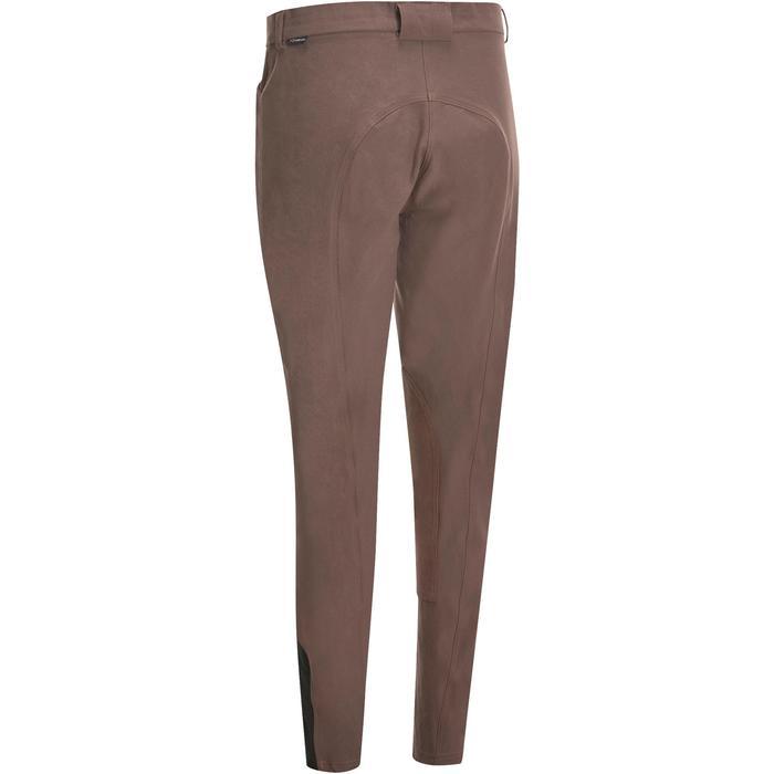 Pantalon équitation femme BR500 basanes marine - 1081976