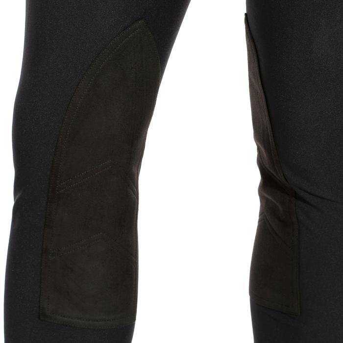 Pantalon équitation homme BR500 basanes noir