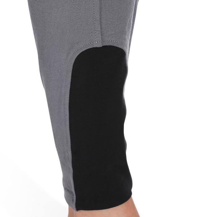 Pantalon équitation femme BR500 basanes marine - 1082047