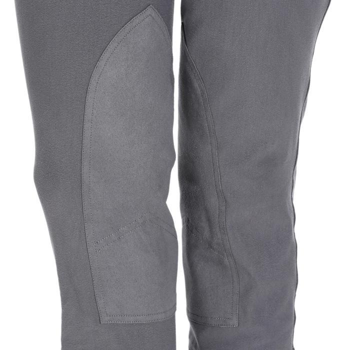 Pantalon équitation femme BR500 basanes marine - 1082049