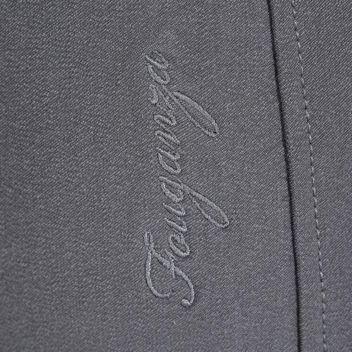 Pantalon équitation femme BR500 basanes marine - 1082053