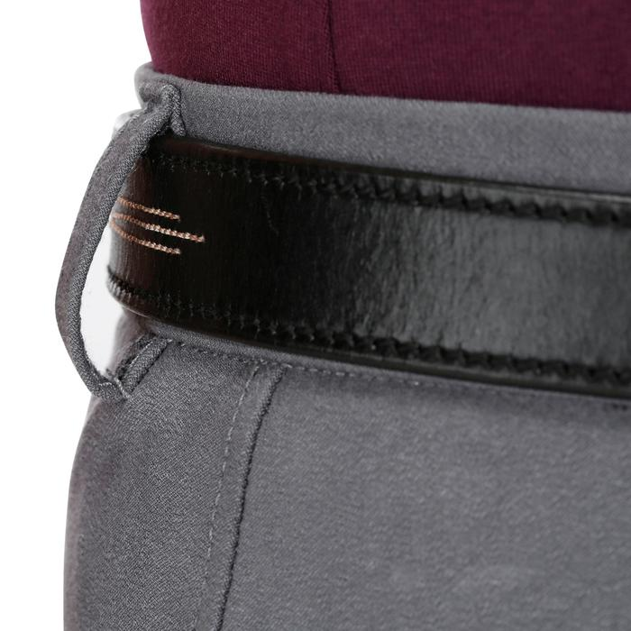 Pantalon équitation femme BR500 basanes marine - 1082059