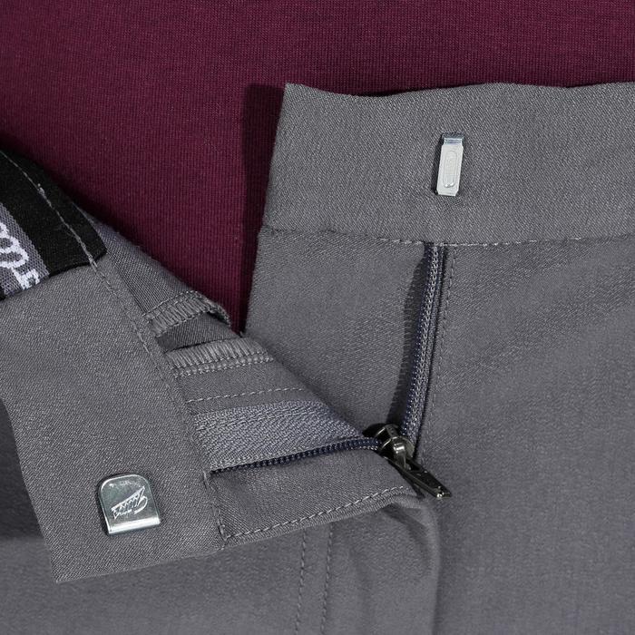 Pantalon équitation femme BR500 basanes marine - 1082063