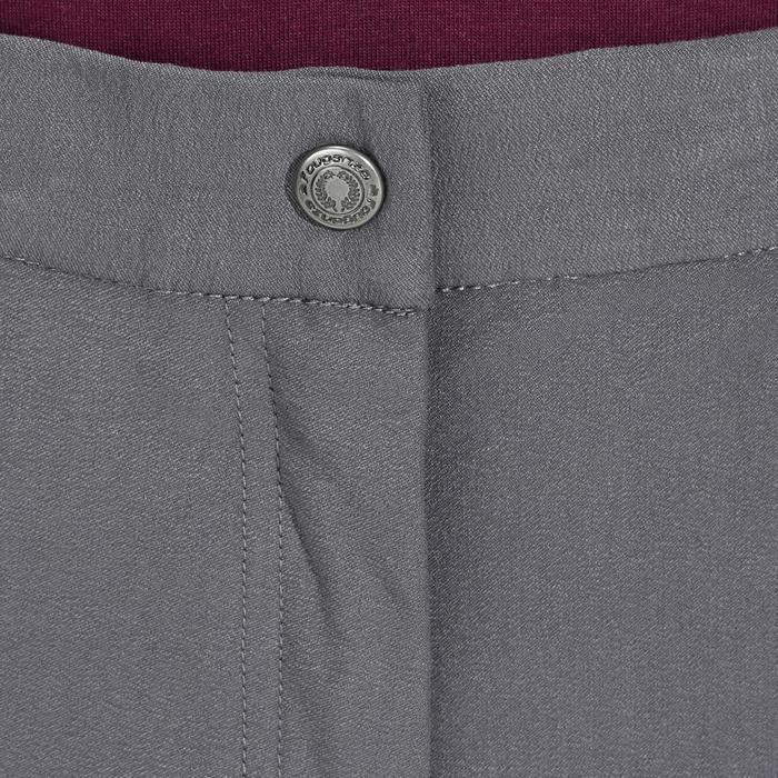 Pantalon équitation femme BR500 basanes marine - 1082065
