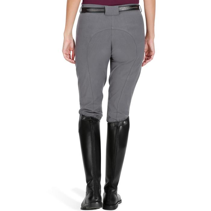 Pantalon équitation femme BR500 basanes marine - 1082069