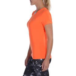 6d6435d22 Energy Women's Cardio Fitness T-Shirt - Orange
