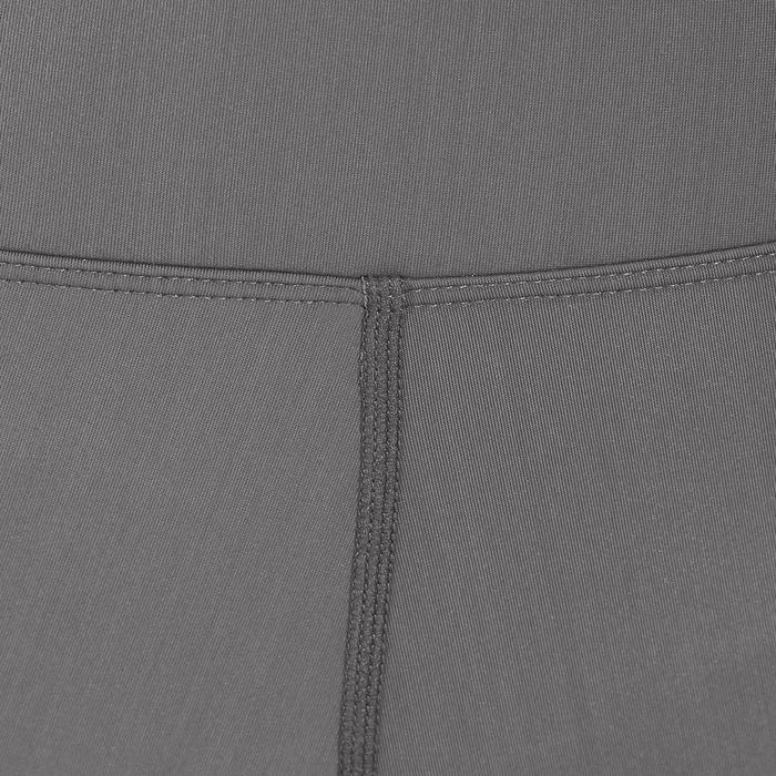 Pantalón equitación mujer BR140 LIGHT gris oscuro