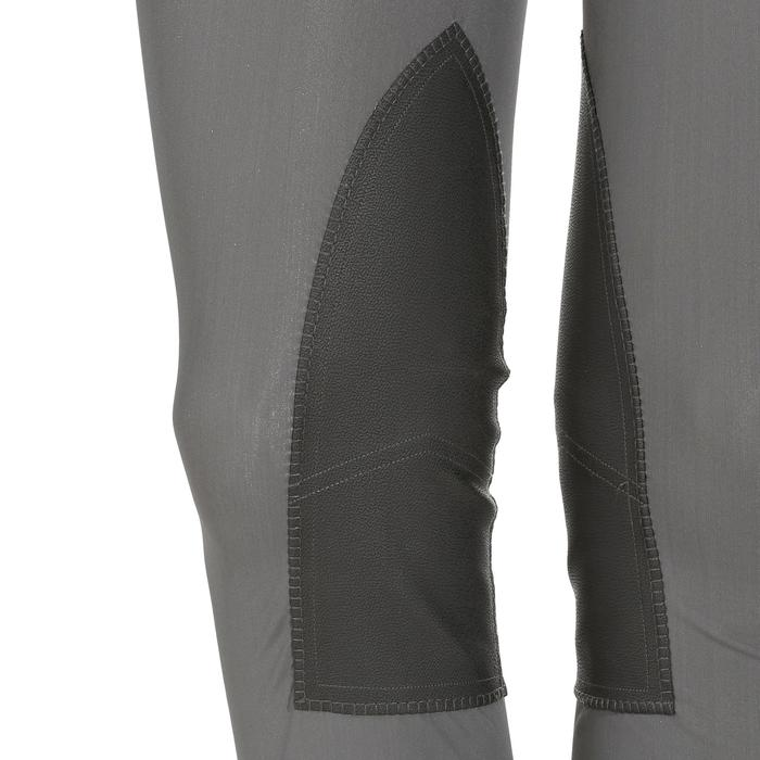 Leggings équitation femme 100 LIGHT gris