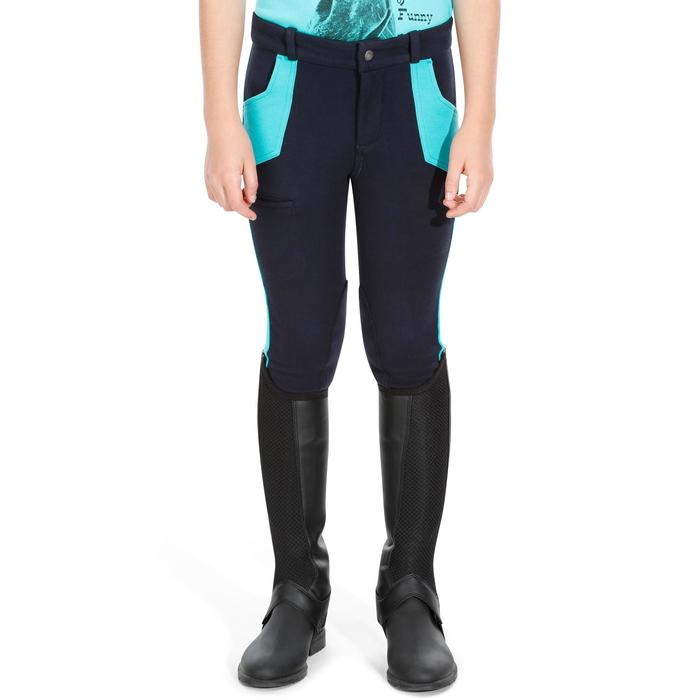 Pantalon équitation enfant BICOLO - 1082419