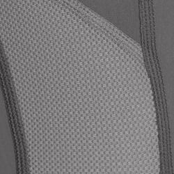 Pantalon équitation femme 100 LÉGER gris
