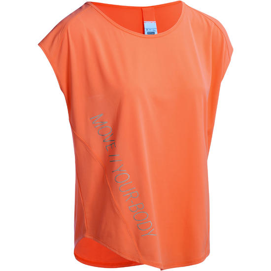 T-shirt fitness Energy loose dames - 1082737