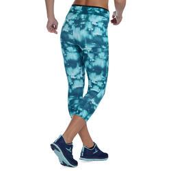 Energy Women's Fitness 7/8 Leggings - Blue Print