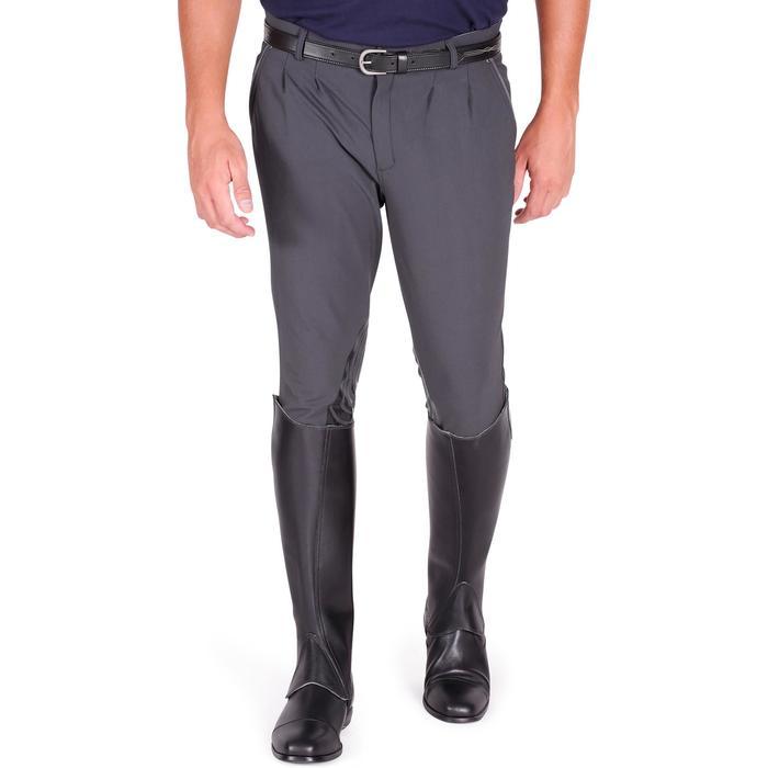 Pantalon équitation homme BR560 GRIP basanes silicone - 1082835