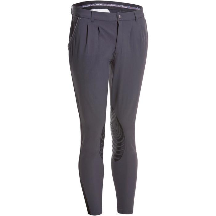 Pantalon équitation homme BR560 GRIP basanes silicone - 1082872