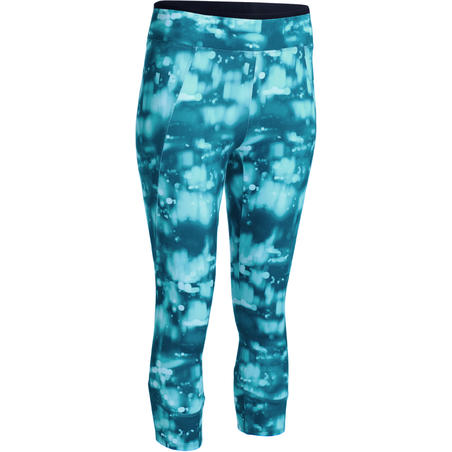 Energy Women's Fitness 7/8 Leggings - Blue Print