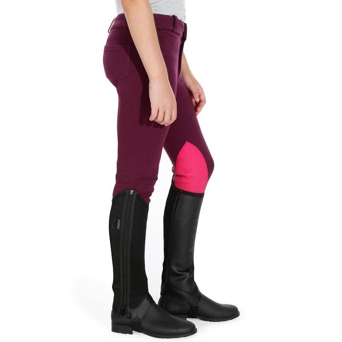 Pantalon équitation enfant BR140 basanes - 1082922