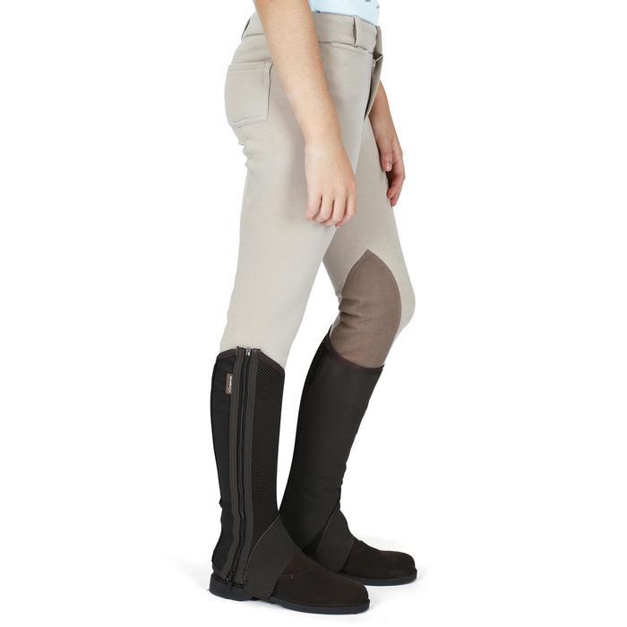 Pantalon équitation enfant BR140 basanes - 1082928