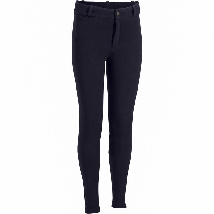 Pantalon équitation enfant BR140 basanes - 1082953