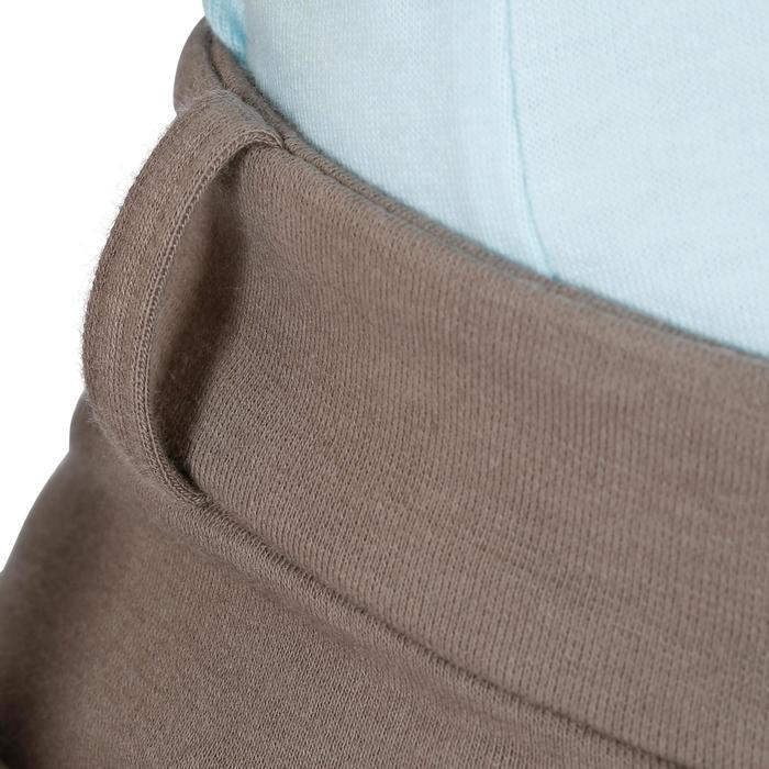 Pantalón equitación niños BR140 badanas marrón