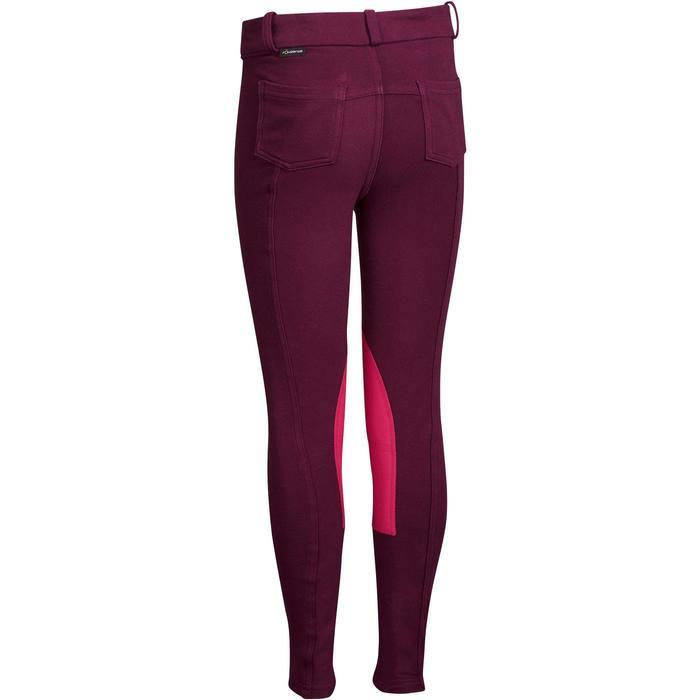 Pantalon équitation enfant BR140 basanes - 1082989