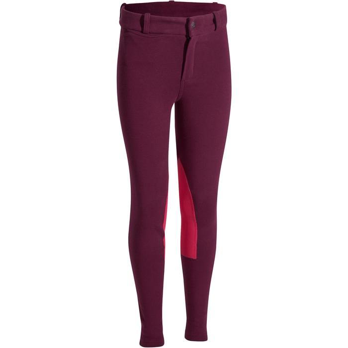 Pantalon équitation enfant BR140 basanes - 1082990