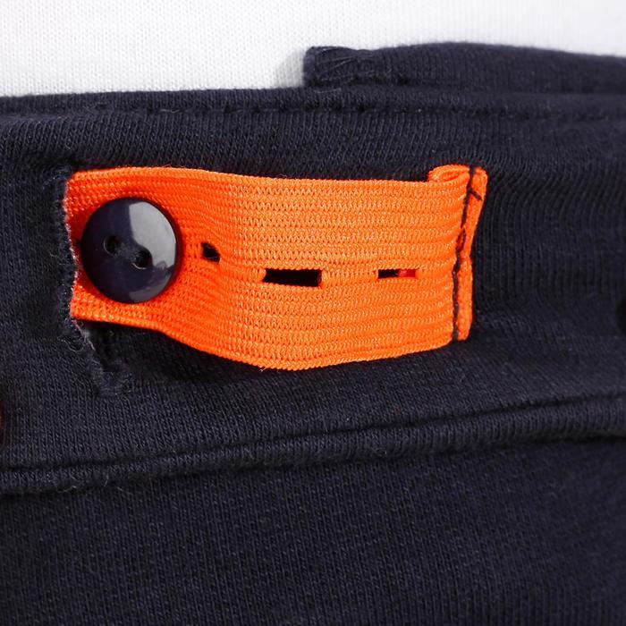 Reithose BR140 Kniebesatz Kinder marineblau