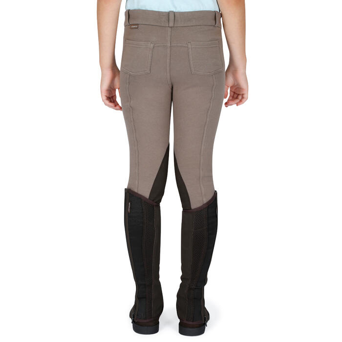 Pantalon équitation enfant BR140 basanes - 1083010