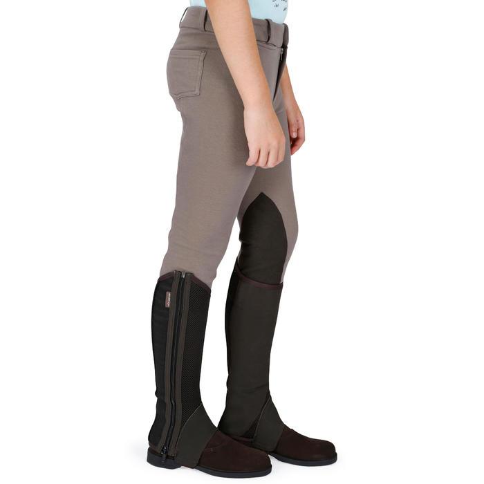 Pantalon équitation enfant BR140 basanes - 1083012