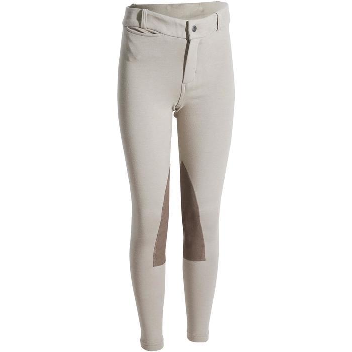 Pantalon équitation enfant BR140 basanes - 1083018