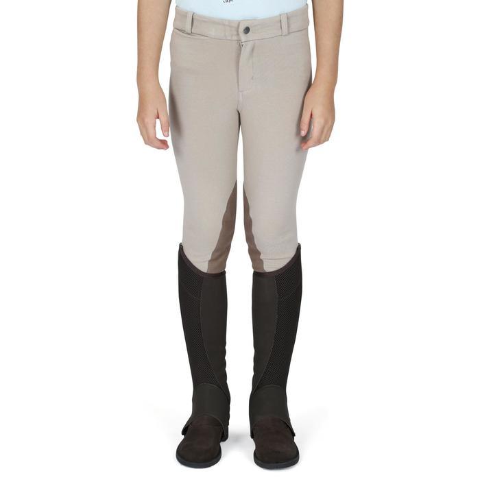 Pantalon équitation enfant BR140 basanes - 1083021