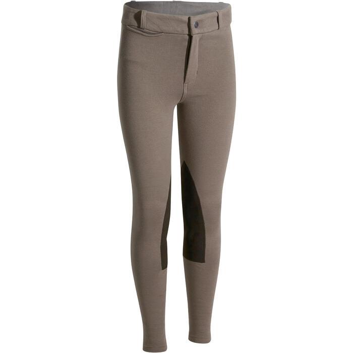 Pantalon équitation enfant BR140 basanes - 1083023