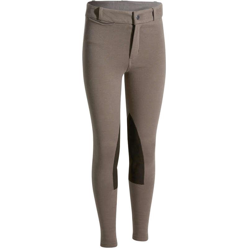 Çocuk binicilik pantolonu - 140 PANTOLON  FOUGANZA