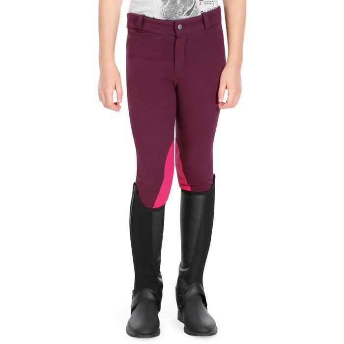 Pantalon équitation enfant BR140 basanes - 1083025
